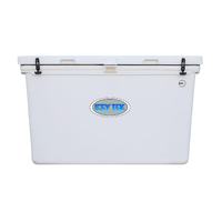 White 600L Standard Ice Box Cooler